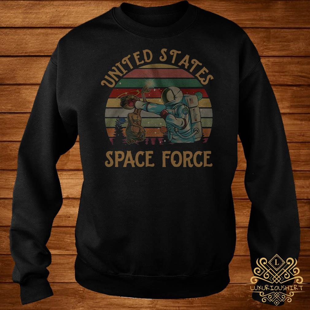 United States space force sunset sweater