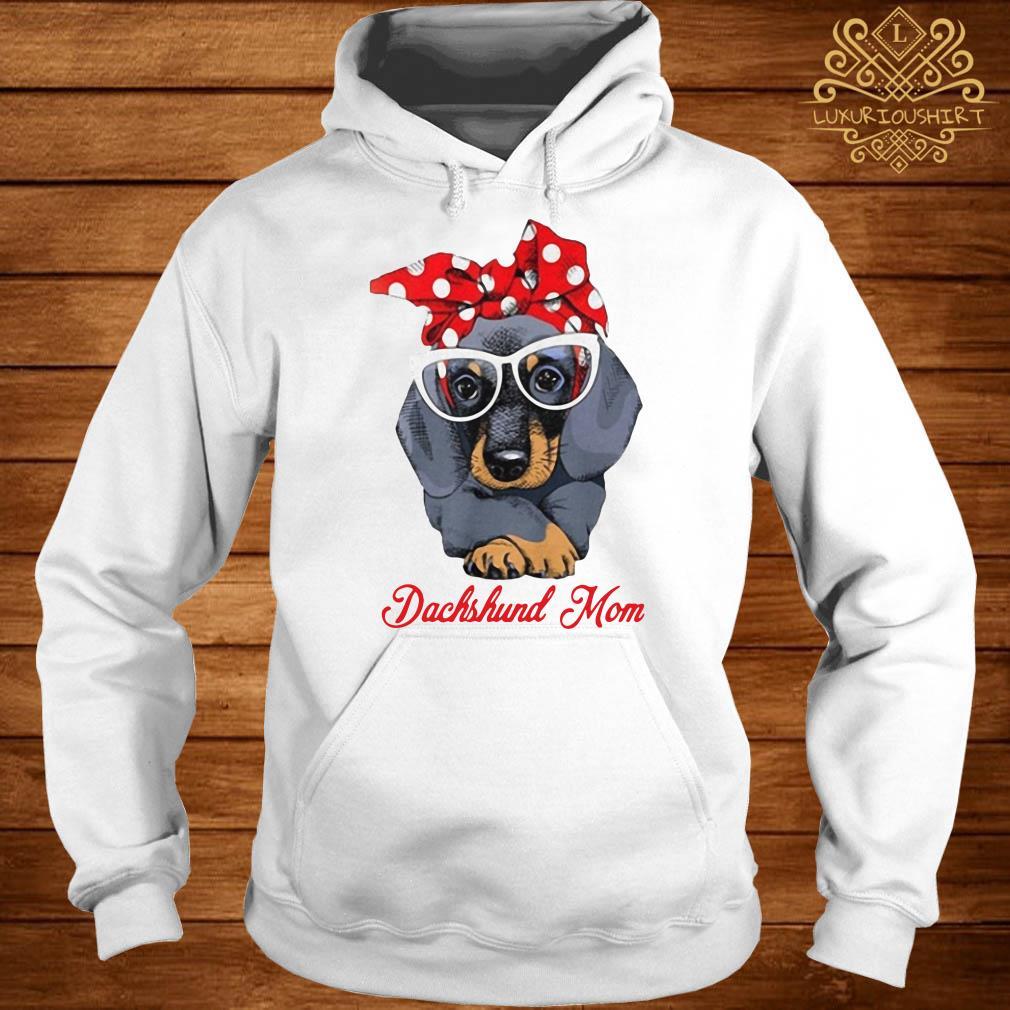Dachshund mom hoodie