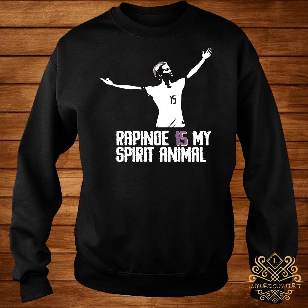 Megan Rapinoe 15 my spirit animal sweater