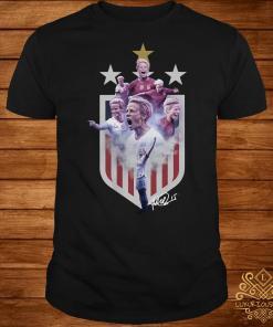 Megan Rapinoe United States flag shirt