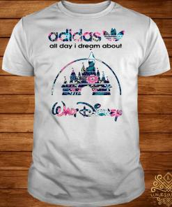Adidas all day I dream about Walt Disney shirt