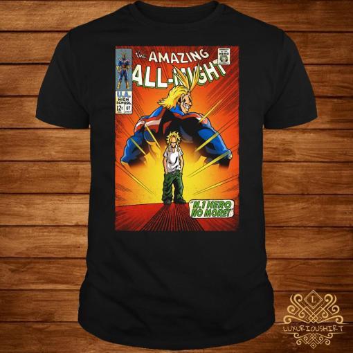 The amazing all night Boku No Hero Academia shirt