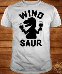 Dinosaur Wino saur wine shirt