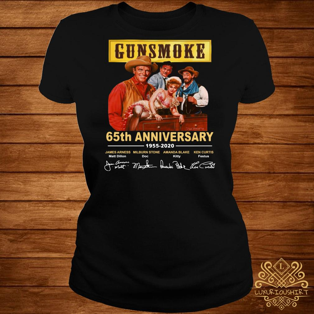Gunsmoke 65th anniversary 1955 2020 ladies tee