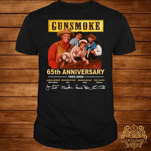 Gunsmoke 65th anniversary 1955 2020 shirt