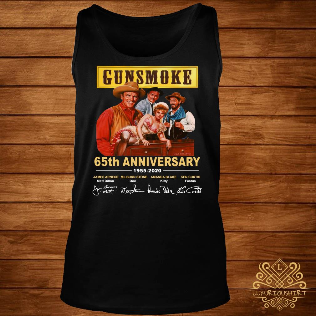 Gunsmoke 65th anniversary 1955 2020 tank-top