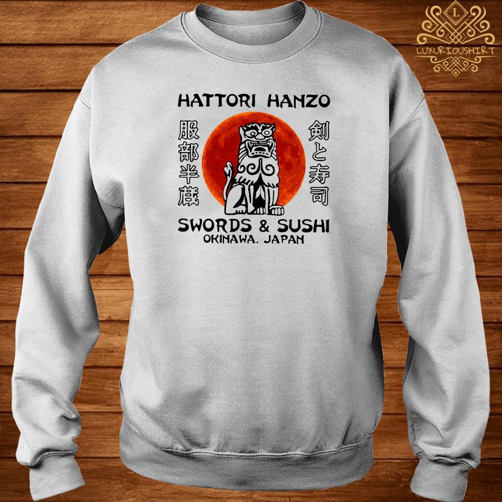 Hattori Hanzo Swords and Sushi Okinawa Japan sweater