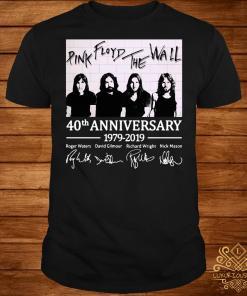Pink Floyd The Wall 40th anniversary 1979 2019 shirt