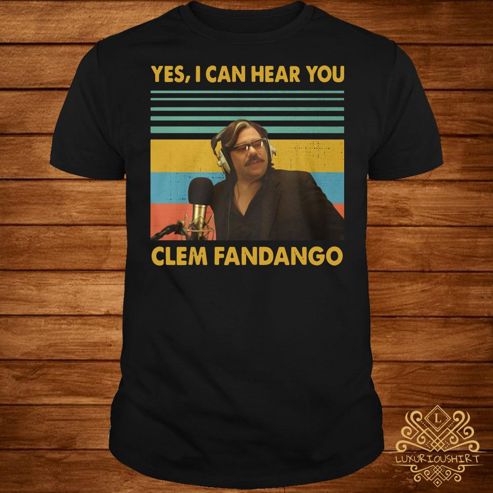 Inspired by Toast TV 6 colours Yes I Can Hear You Clem Fandango Hoodie