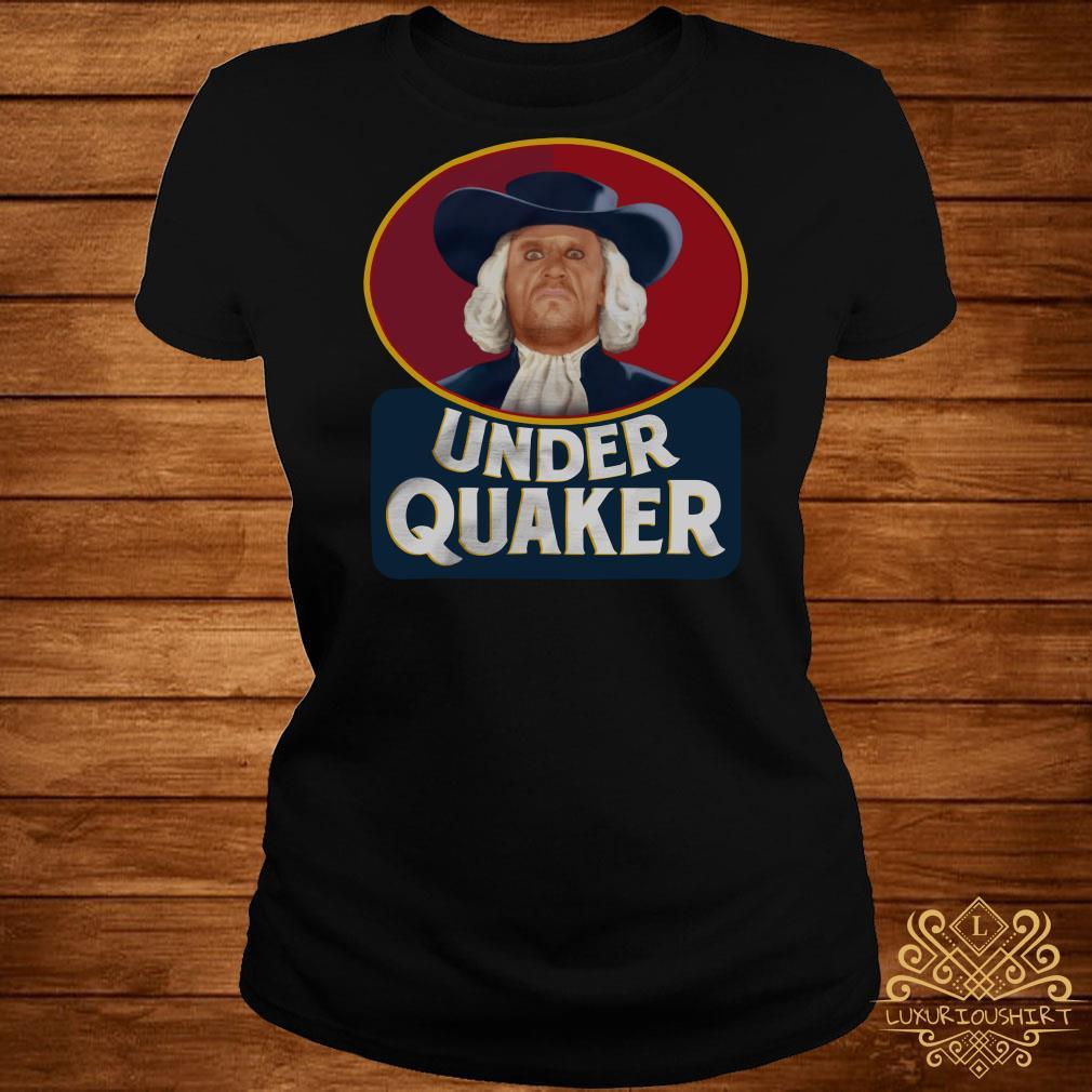Under Quaker ladies tee