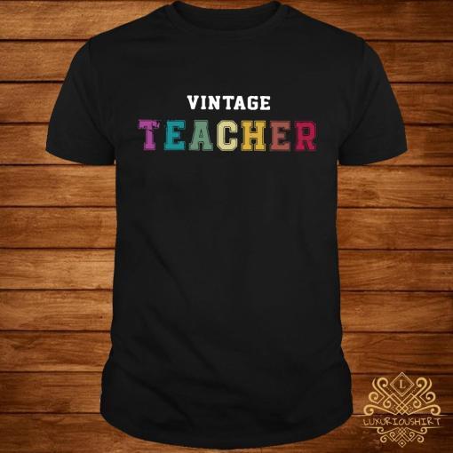 Vintage teacher shirt