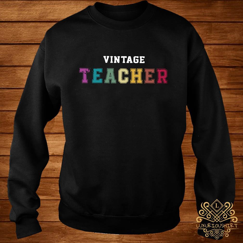Vintage teacher sweater