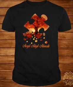 Accept adapt advocate autism Halloween shirt