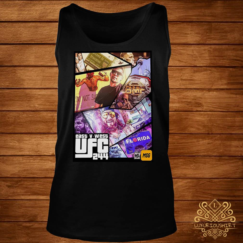 East And West UFC 244 Florida Nate Diaz And Jorge Masvidal Welterweights tank-top