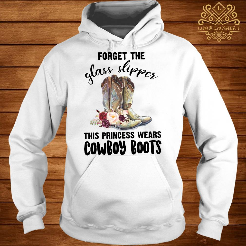 Forget the glass slipper this princess wears cowboy boot hoodie