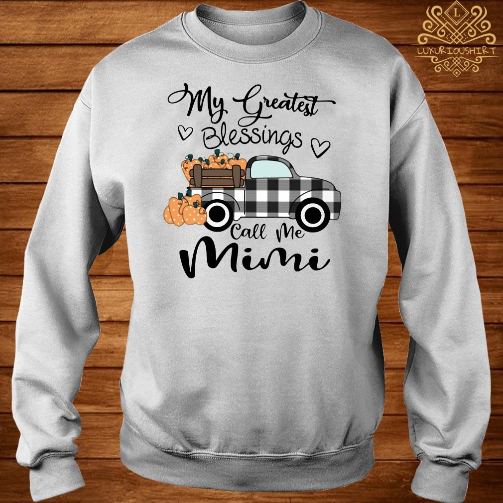 My Greatest Blessings Call Me Mimi sweater