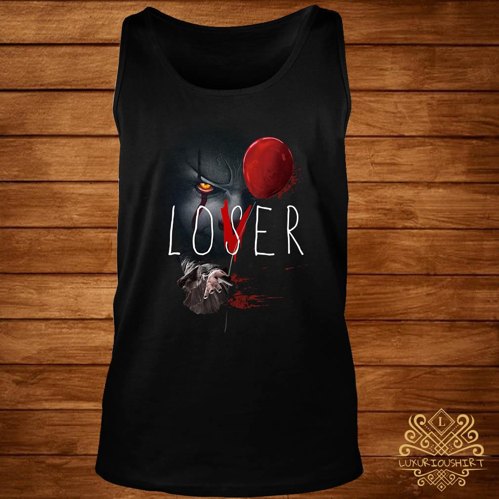 IT Pennywise lover loser tank-top