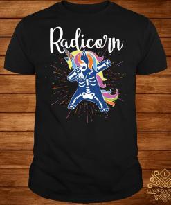 Unicorn dabbing Radicorn shirt