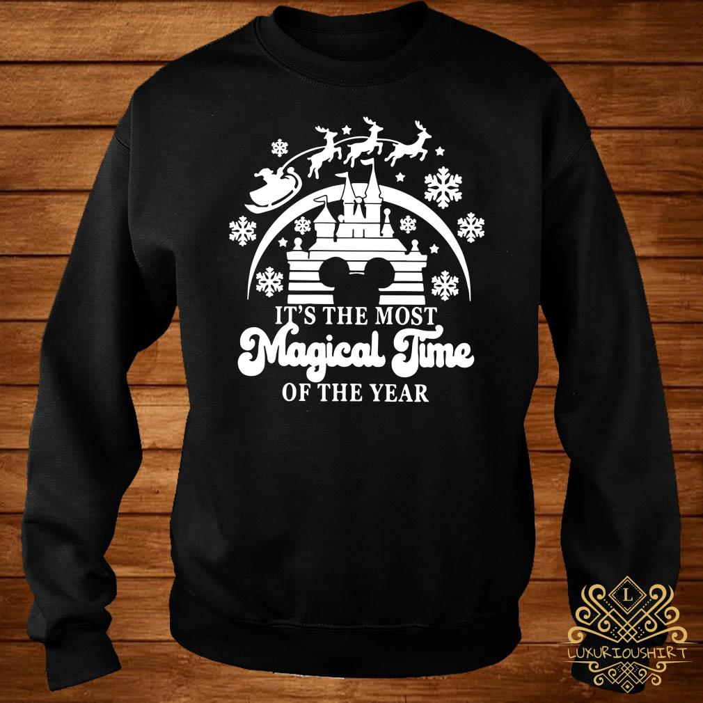Disney Mickey Head It's The Most Magical Time Of The Year Sweater