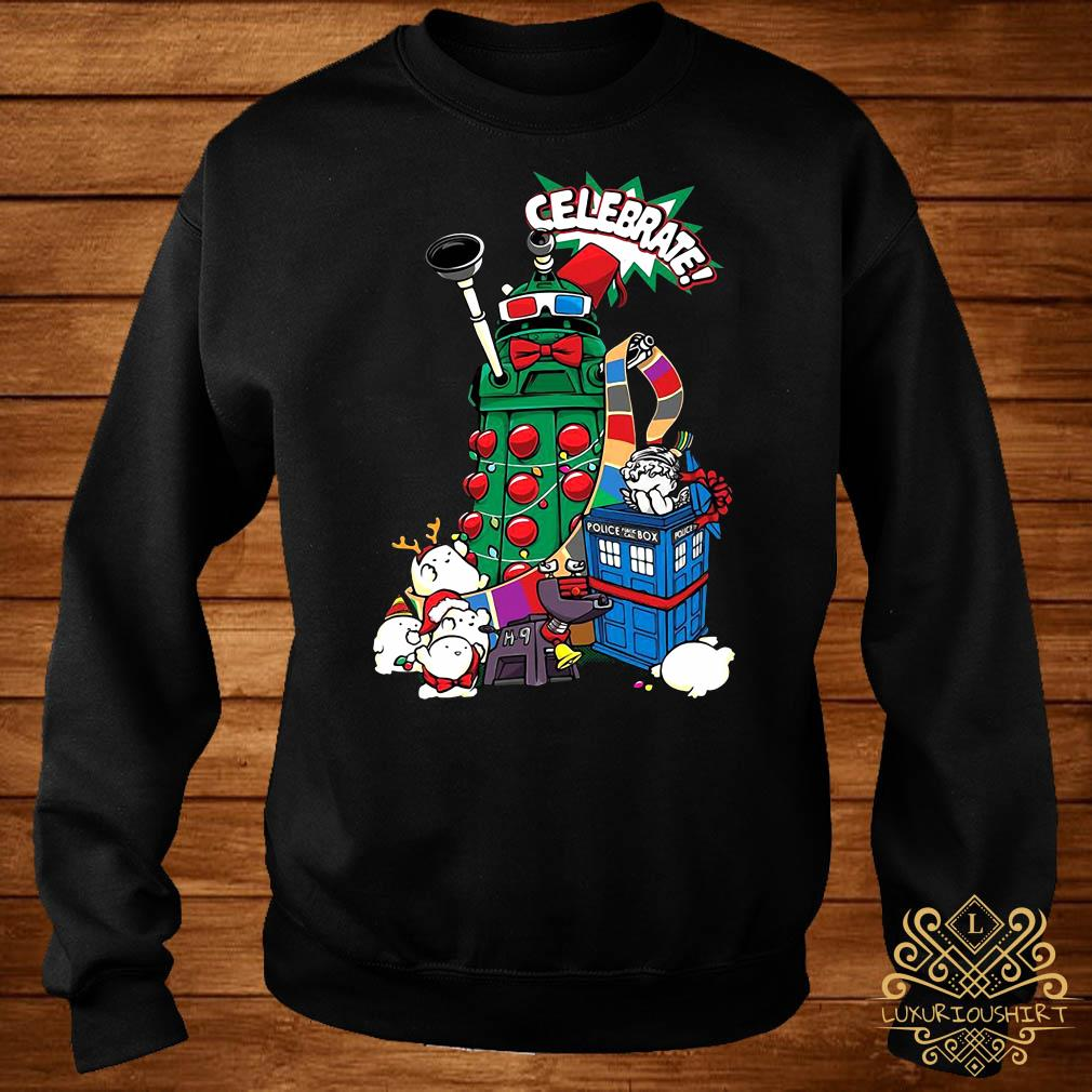 Doctor Who Celebrate Christmas Sweater
