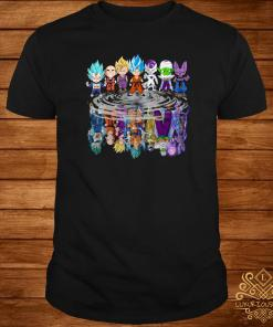Dragon Ball Z Chibi Water Reflection Mirror Shirt