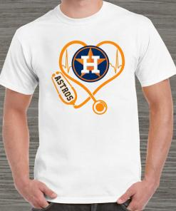 Heartbeat Nurse Love Houston Astros Unisex