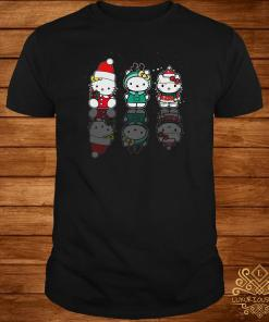 Hello Kitty Christmas Reflection Mirror Water Shirt