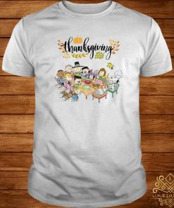 Peanut Characters Thanksgiving Shirt