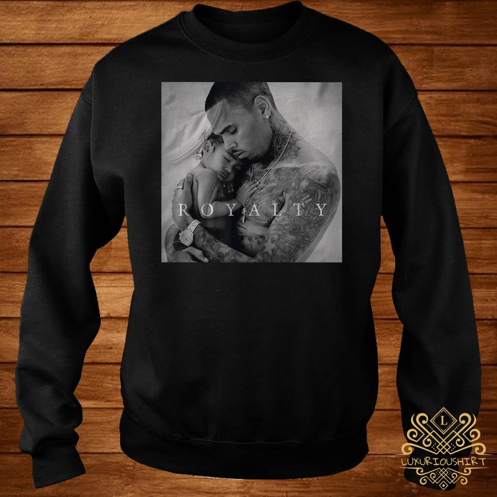 Royalty little more Chris Brown poster sweater