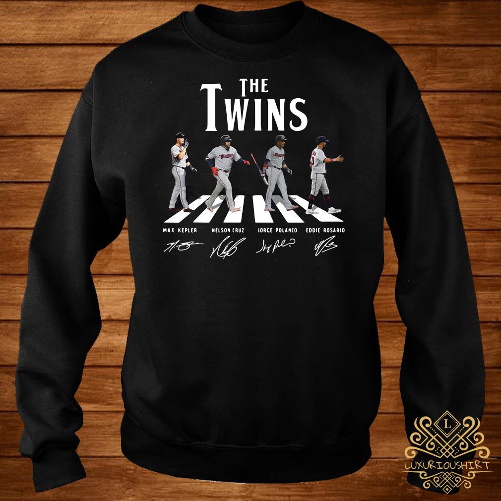 The Twins abbey road signature sweater