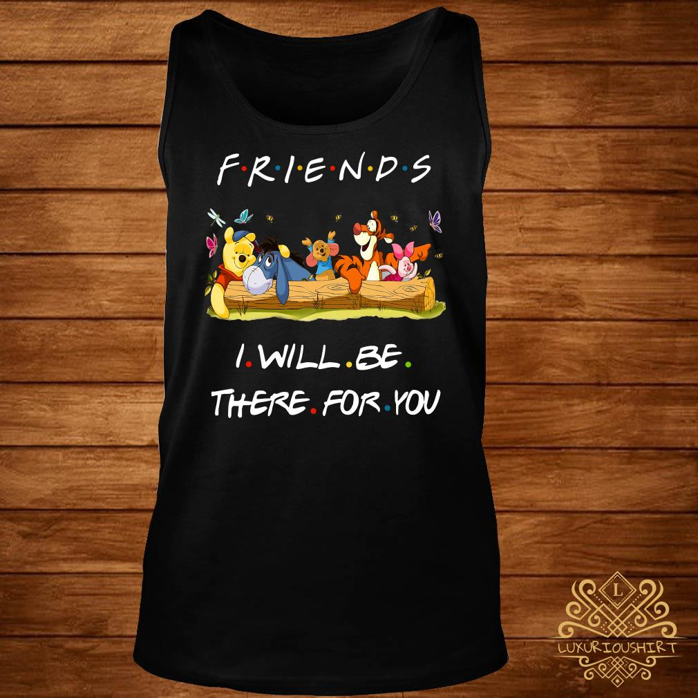 Winniepedia Friends I Will Be There For You Tank-top