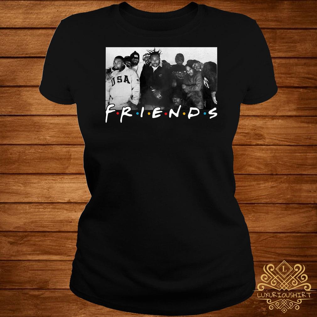 Wu-Tang Clan Friends TV show ladies tee