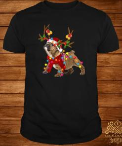 Bulldog Gorgeous Reindeer Light Christmas