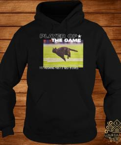 Dallas Cowboys Black Cat Player Of The Game 117 Rushing YSD 2 TDS 9 Lives Hoodie