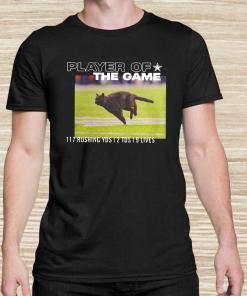 Dallas Cowboys Black Cat Player Of The Game 117 Rushing YSD 2 TDS 9 Lives Unisex
