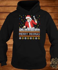 DJ Santa Claus Merry Mixmas Hoodie