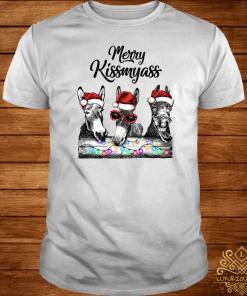 Donkeys Merry Kissmyass Shirt
