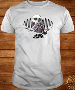 Flower Skull Arctic Monkeys Signatures Shirt