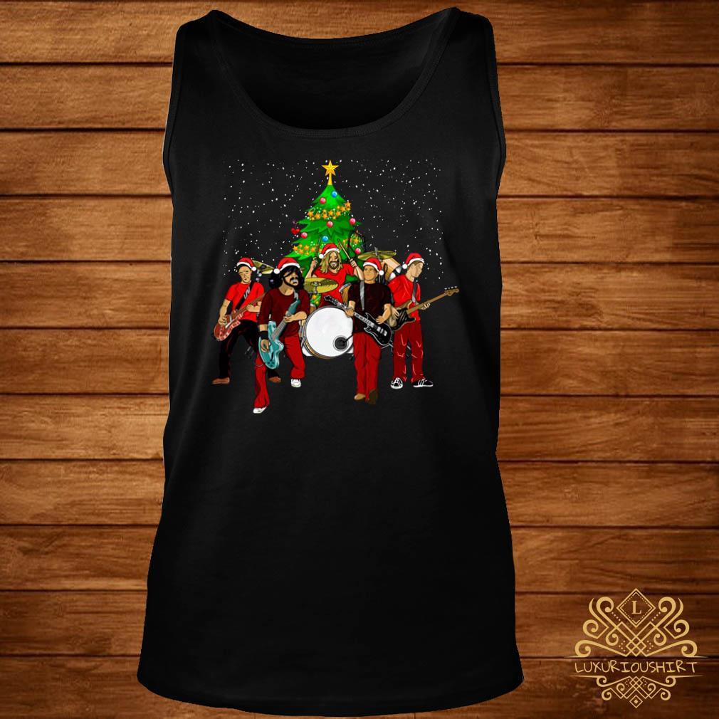 Foo Fighters Christmas Tree Tank-top
