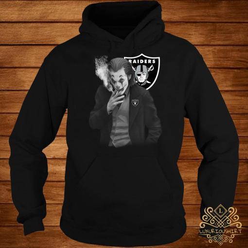 Joker Joaquin Phoenix Oakland Raiders Hoodie