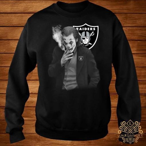 Joker Joaquin Phoenix Oakland Raiders Sweater