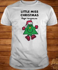 Little Miss Christmas By Roger Hargreaves Shirt