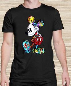 Mickey Mouse With Disney Tattoos Unisex