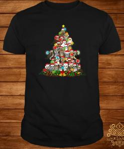 Owls Christmas Tree Shirt