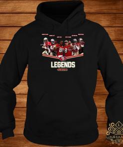 San Francisco 49ers Legends Team Player Signatures Hoodie