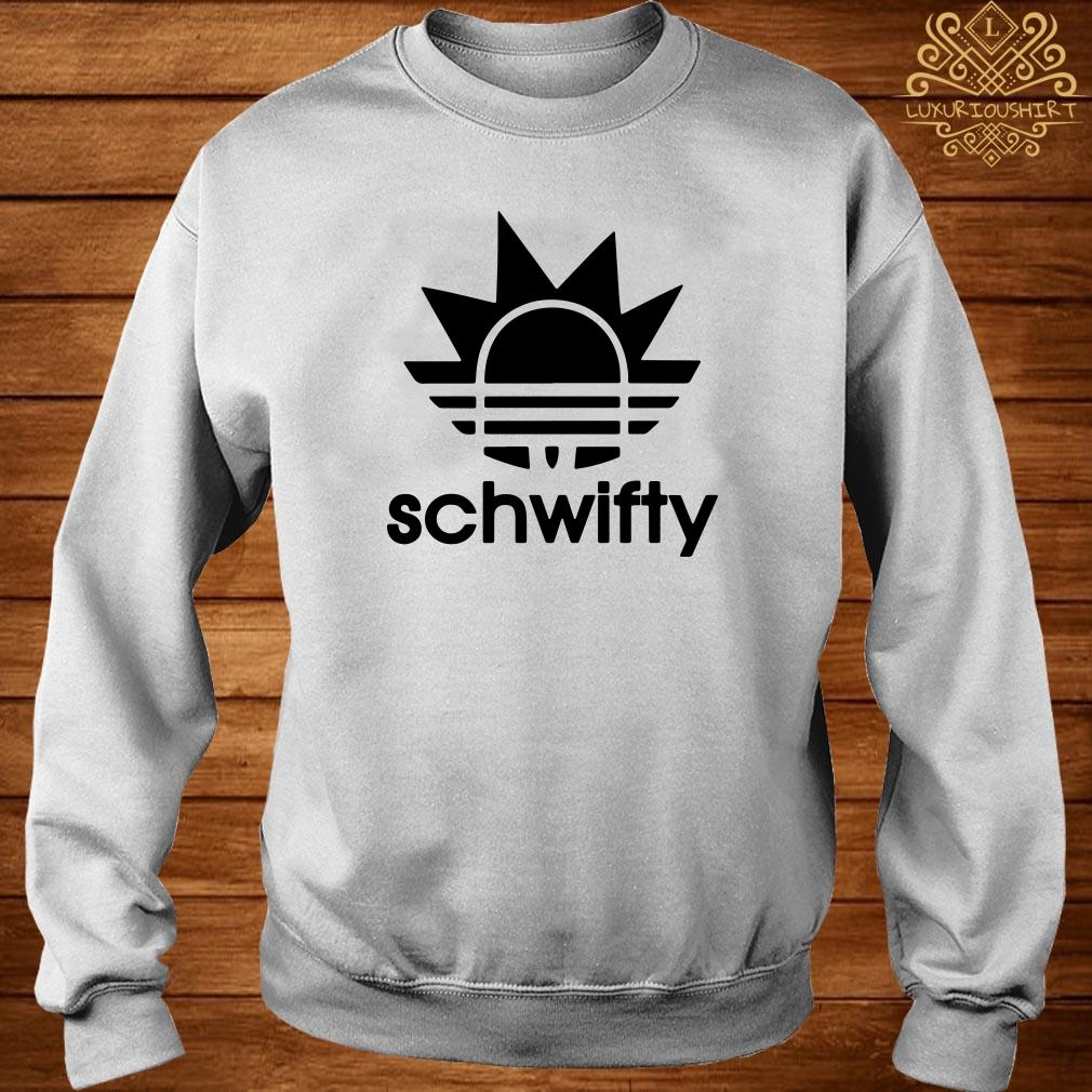 Schwifty Adidas Rick Sanchez Sweater
