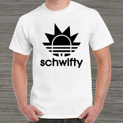 Schwifty Adidas Rick Sanchez Shirt
