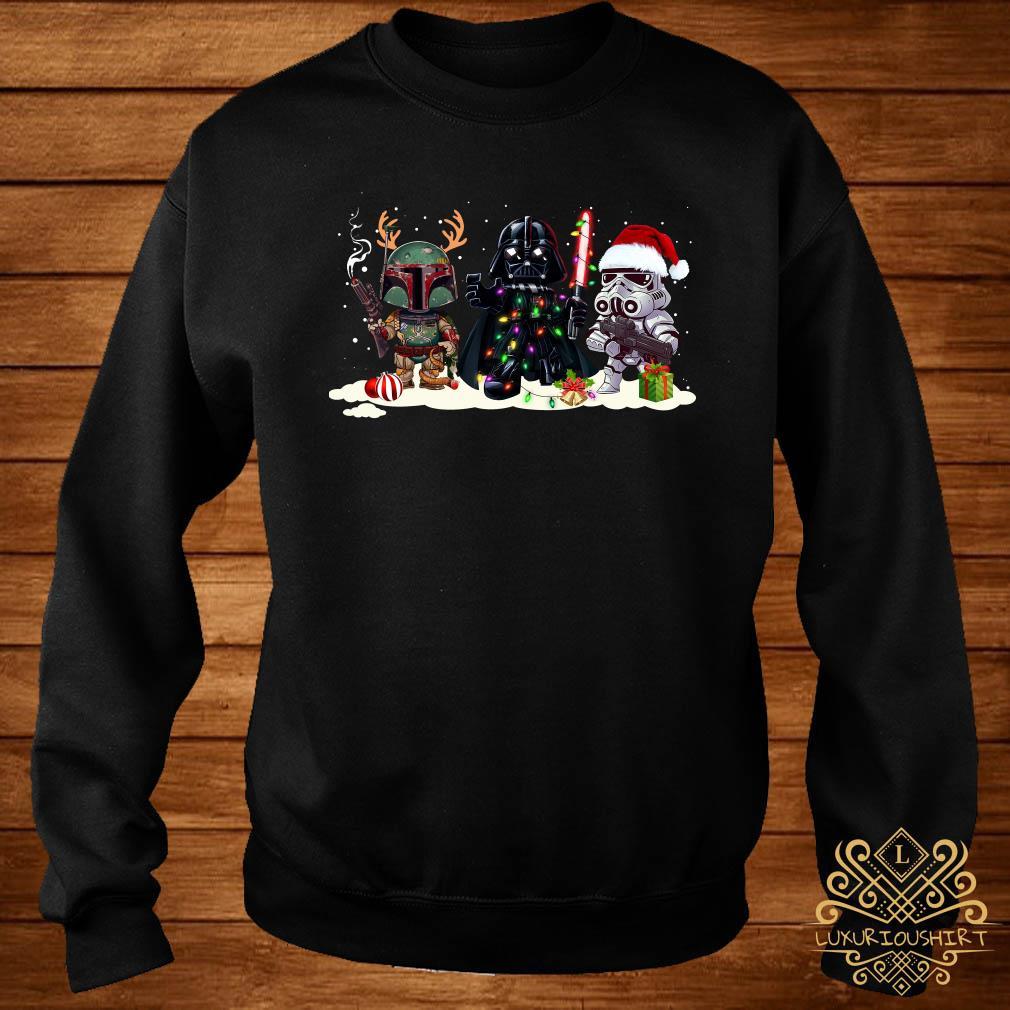 Star Wars Chibi Characters Christmas Sweater