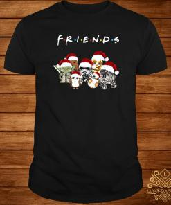 Star Wars Chibi Characters Friends TV Show Christmas Shirt