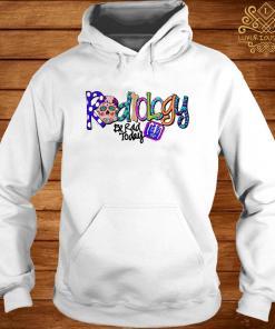 Sugar Skull Radiology Be Rad Today hoodie